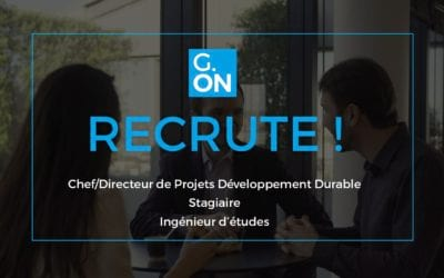 G-ON recrute !