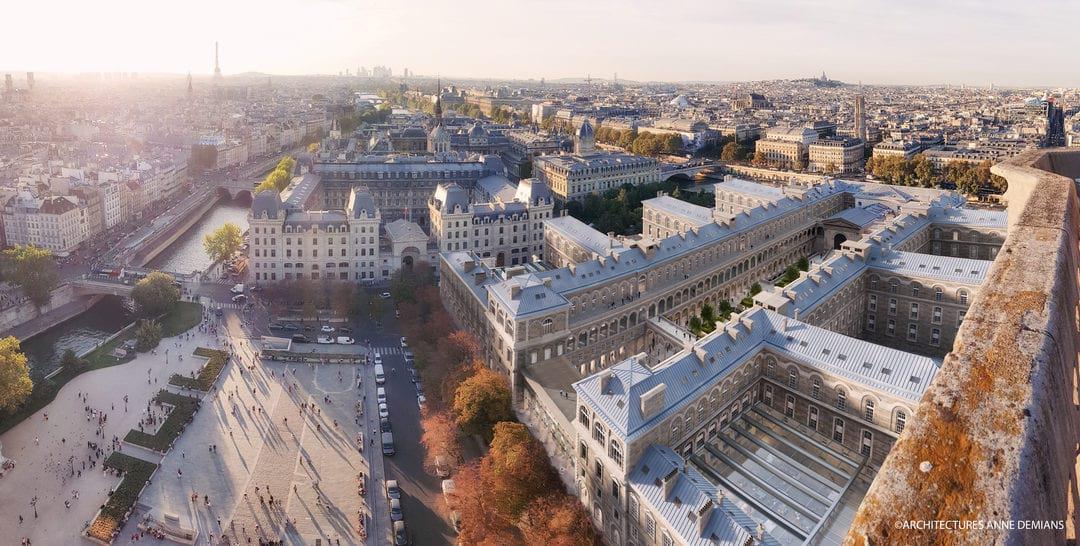 PARVIS NOTRE-DAME (Consultation AP-HP, Paris)